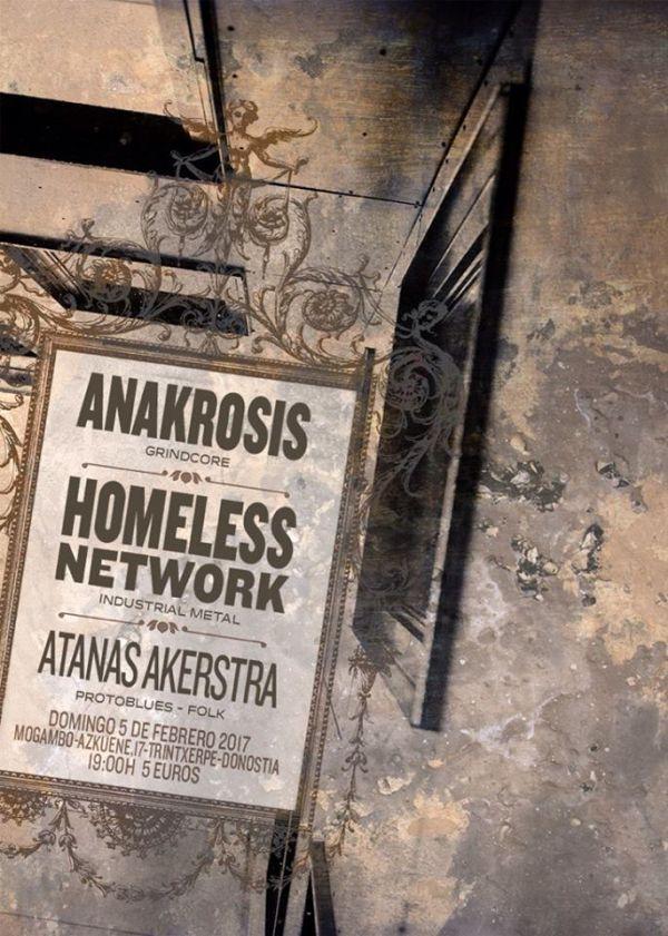 Anakrosis + Homeless Network + Atanas Akerstra