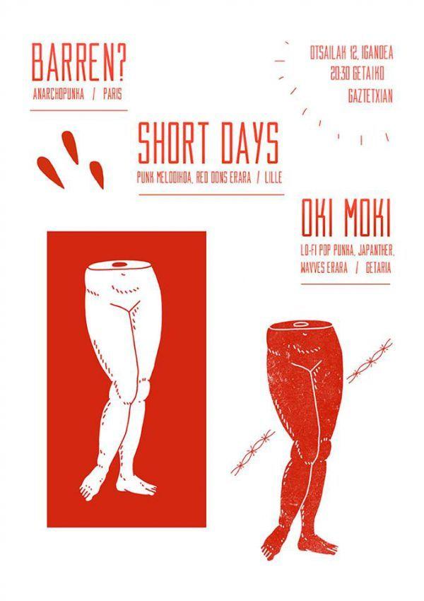 Barren? + Short Days + Oki Moki
