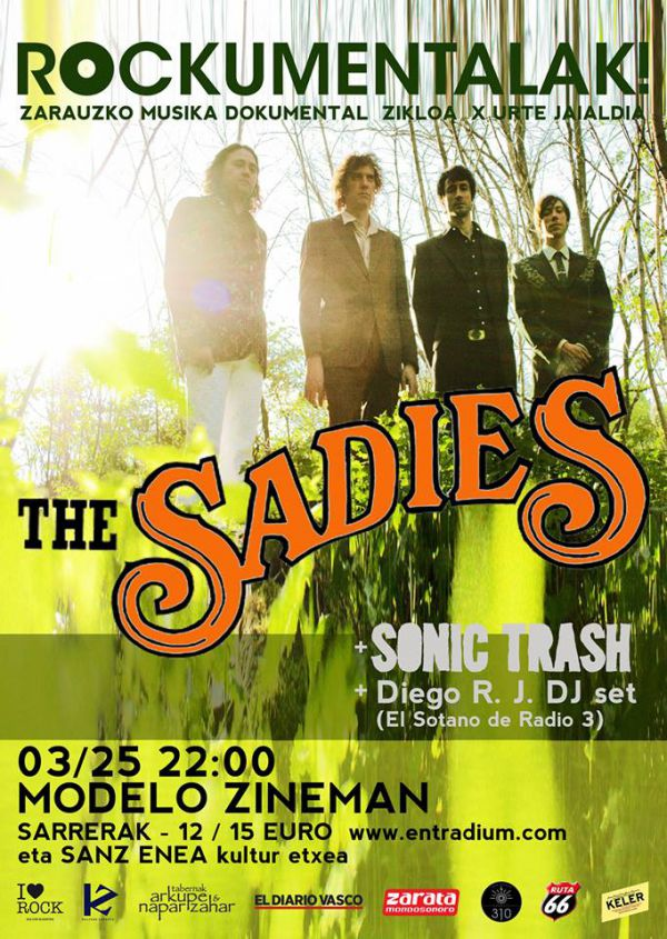 The Sadies + Sonic Trash + Diego RJ DJSet