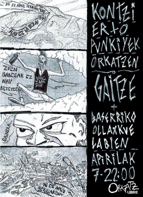 Gaitze + Baserriko Ollaxkue Labien
