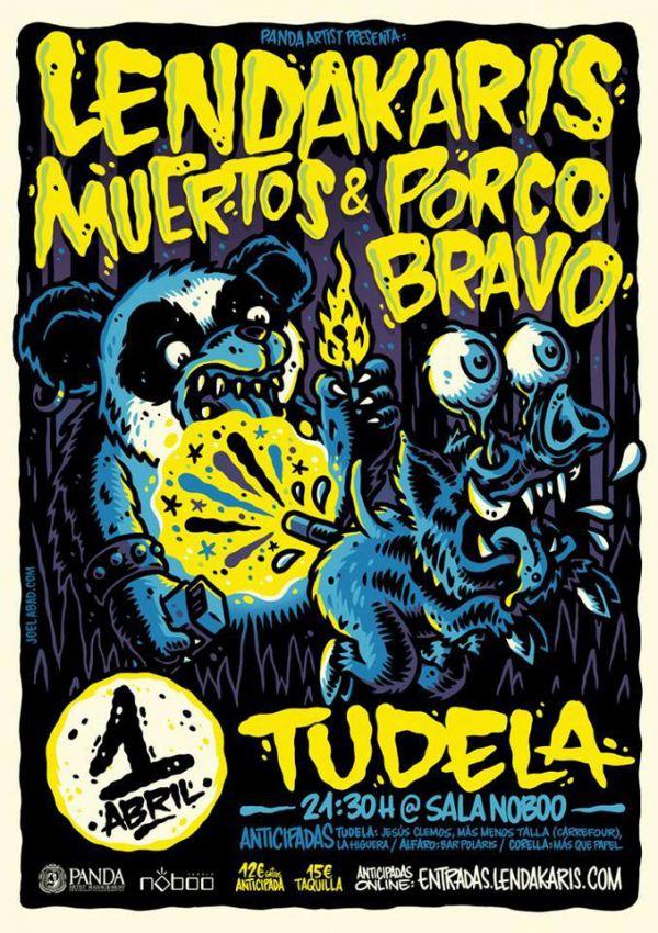 Lendakaris Muertos + Porco Barvo