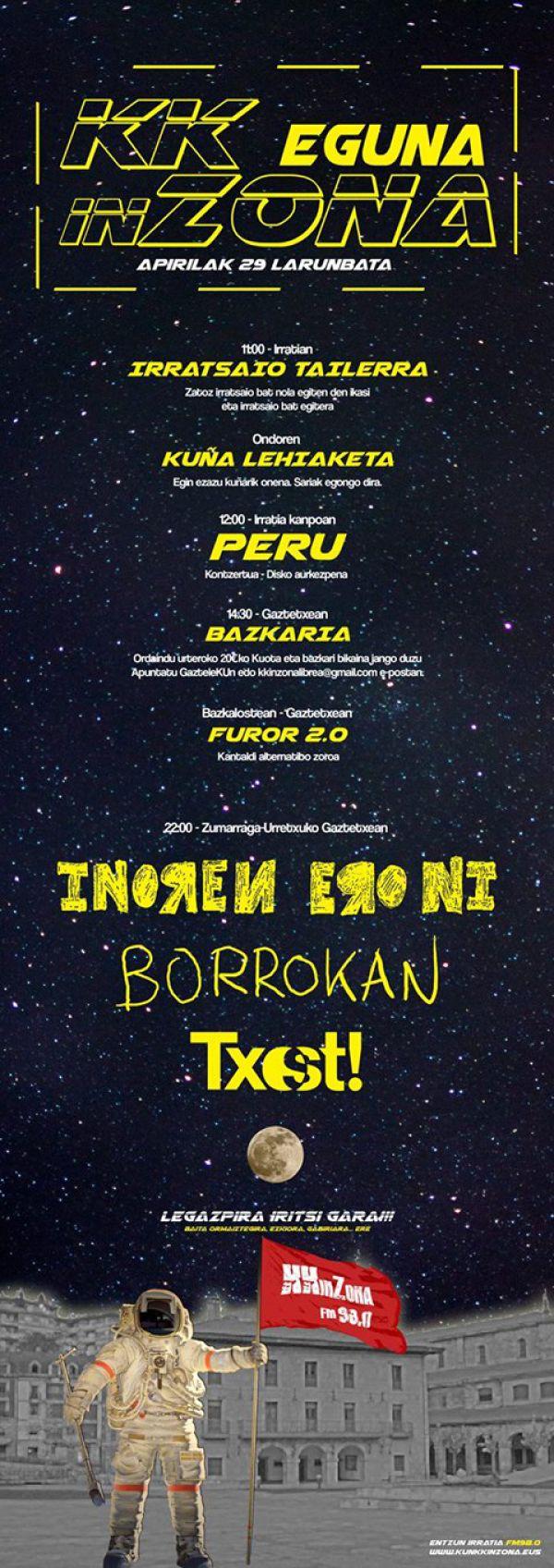 Borrokan + Inoren Ero Ni + Txost!