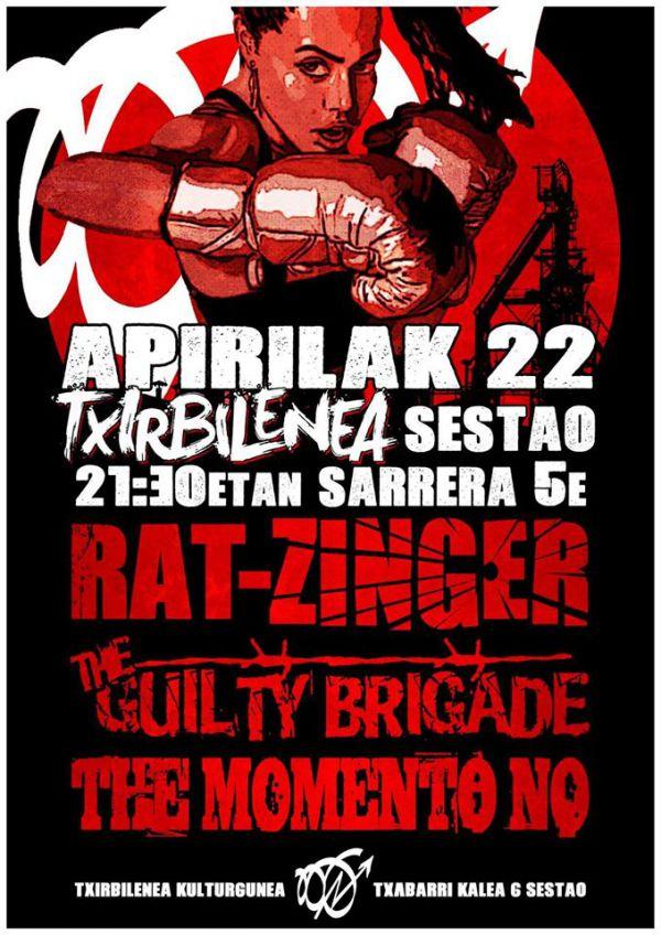 Rat-Zinger + The Guilty Brigade + The Momento No