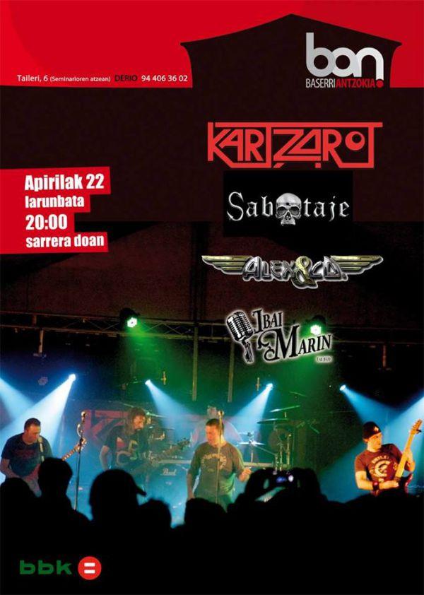 Kartzarot + Alex&Co + Sabotaje + Ibai Marin