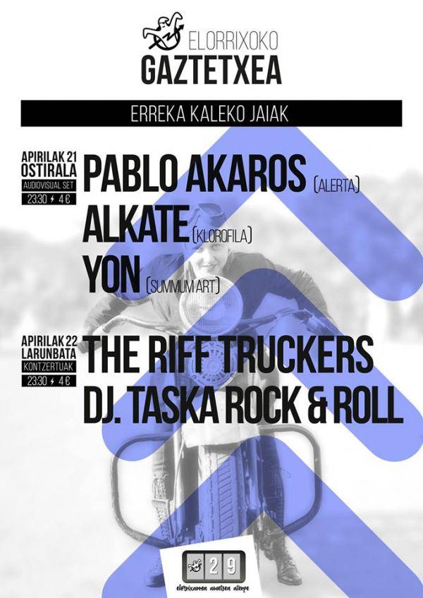 The Riff Truckers + DJ Taska Rock and roll