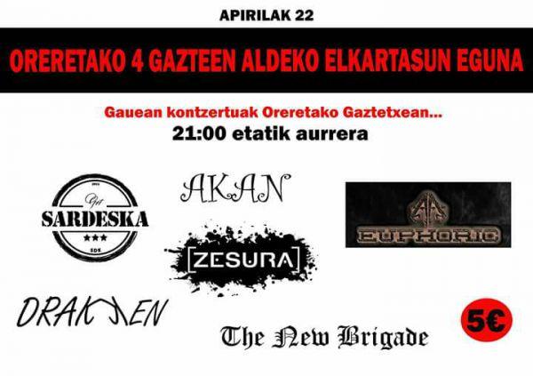 Sardeska + Akan + Euphoric + Zesura + Drakken + The New Brigade