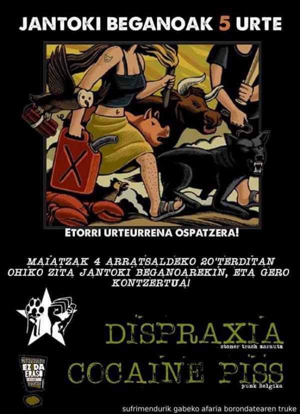 Dispraxia + Cocaine Piss