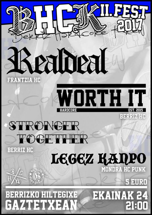 Real Deal + Worth It + Stronger Together + Legez Kanpo