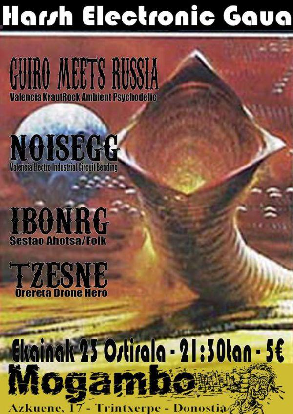 Tzesne + IbonRG + Noisegg + G