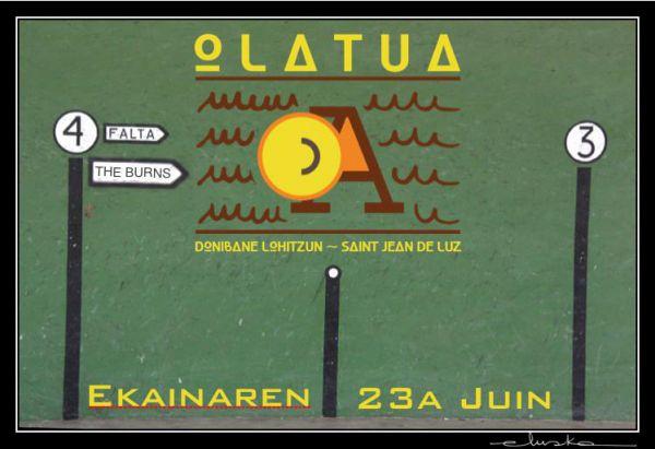 FaltA + The Burns Olatuan Donibane Lohitzuneko Pestetan