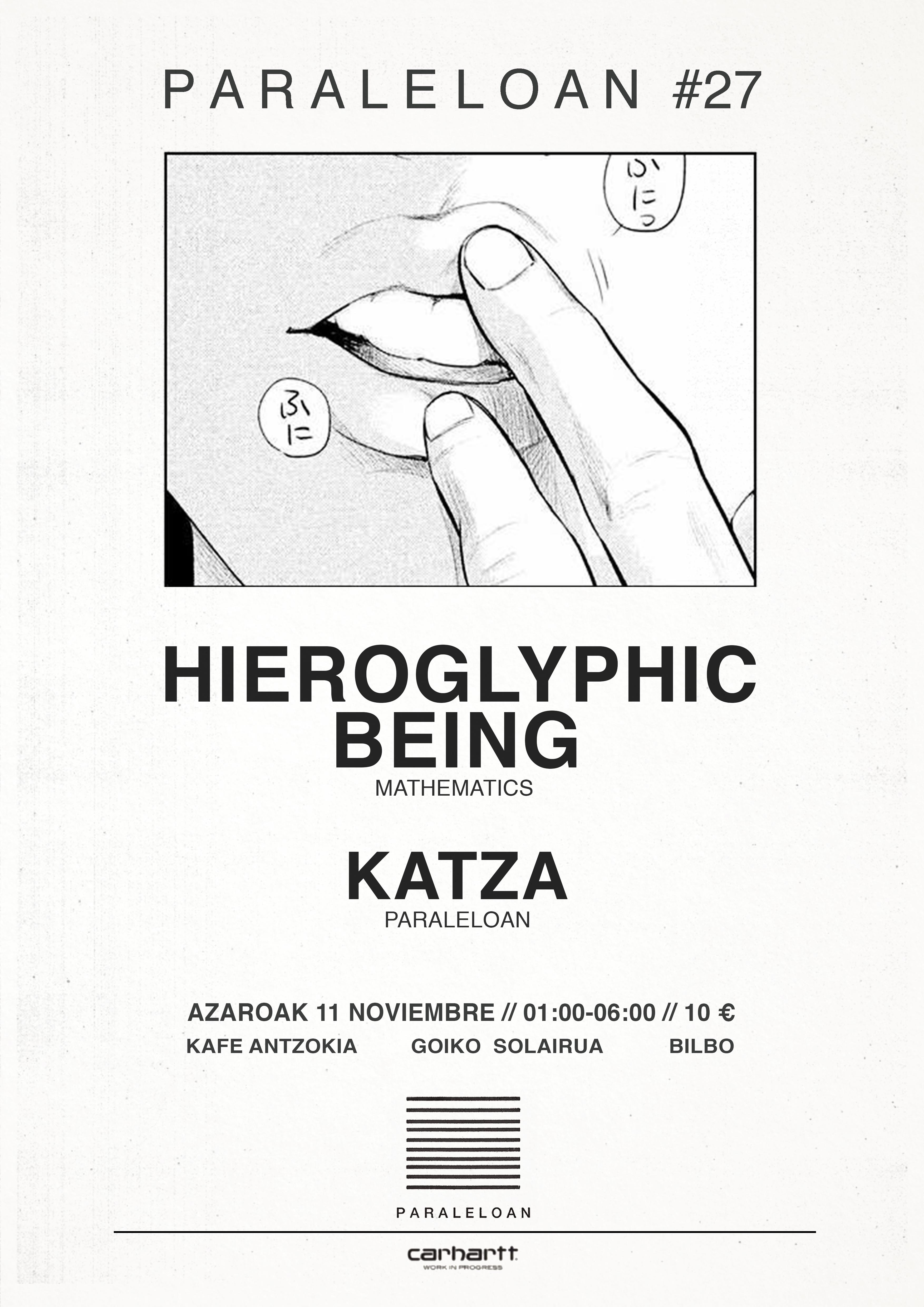 PARALELOAN #27 - HIEROGLYPHIC BEING // KATZA