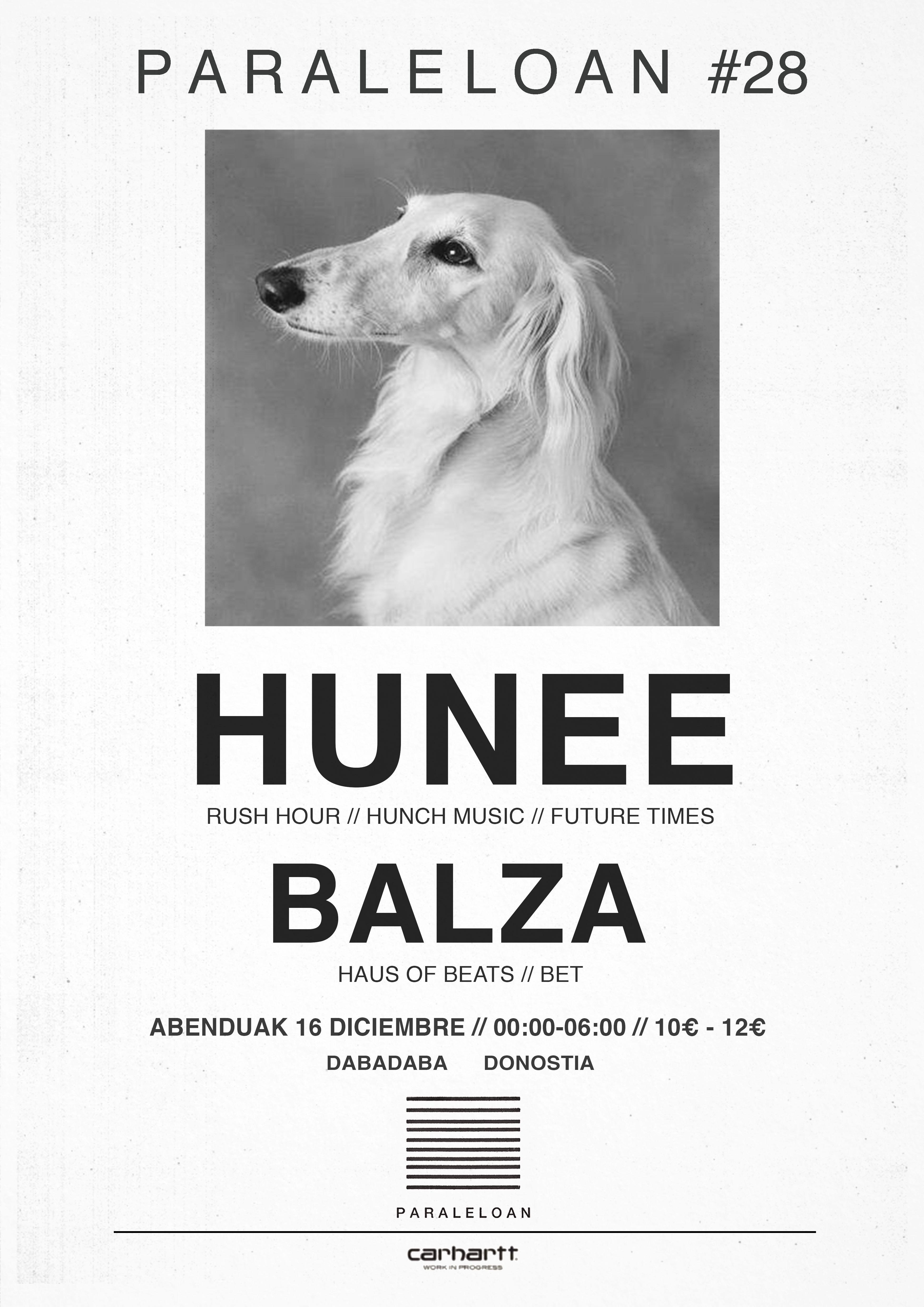 PARALELOAN #28 - HUNEE // BALZA