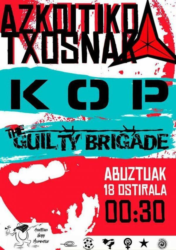 Kop + The Guilty Brigade
