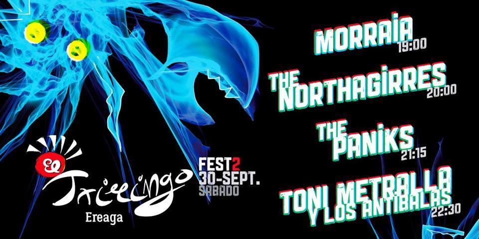 Morraia, The Northagirres, The Paniks, Toni Metralla eta Los Antibalas