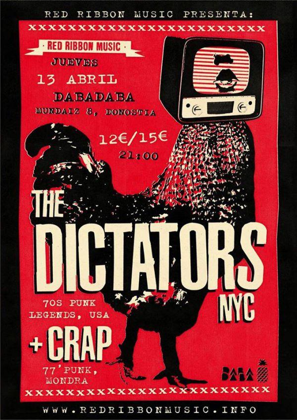 The Dictators NYC + Crap