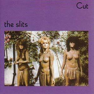 """The Slits taldearen """"Cut"""" diskoaren azala."""