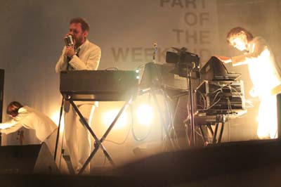 Soulwax in action! Arg: Mariano Garc�a.