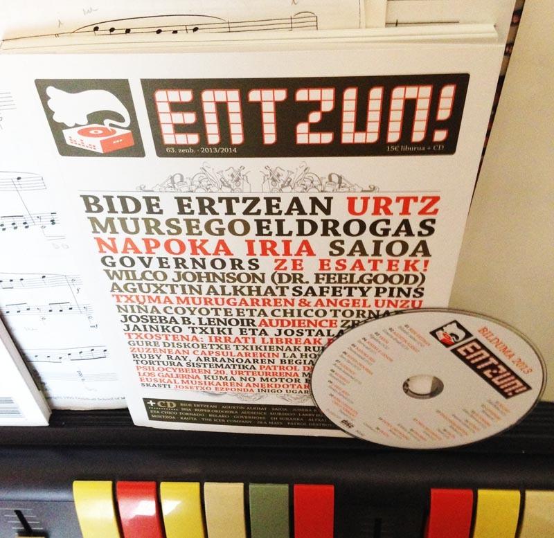 15 euroren truk, liburua + 20 kantuko CDa! Harpidetzen bazara, bidalketa gastuak doan!