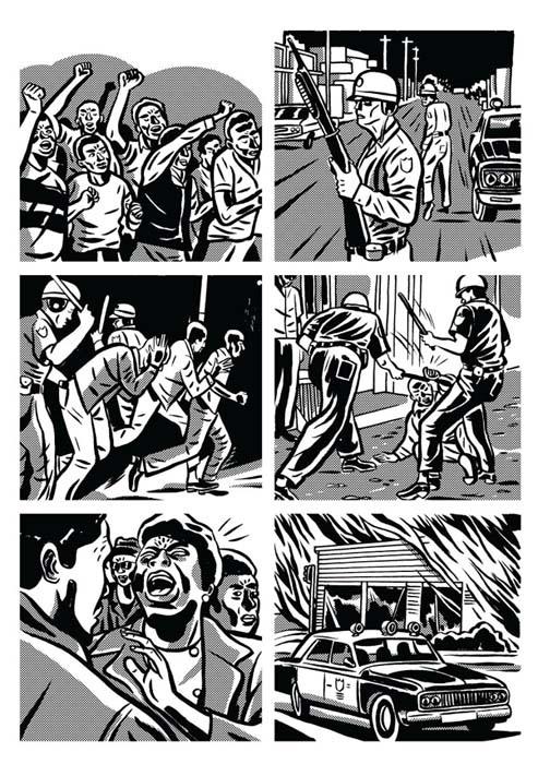 Black is Beltza komikia Alderetek ilustratu du.