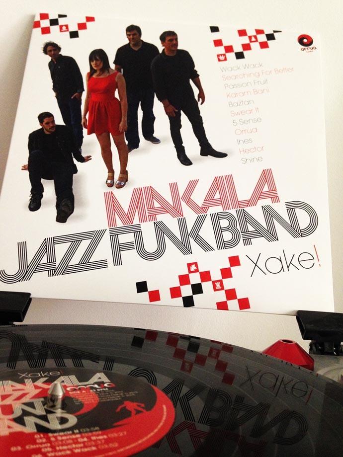 Makala Jazz Funk Bandaren diskoa jiraka! Argazkia: Entzun!