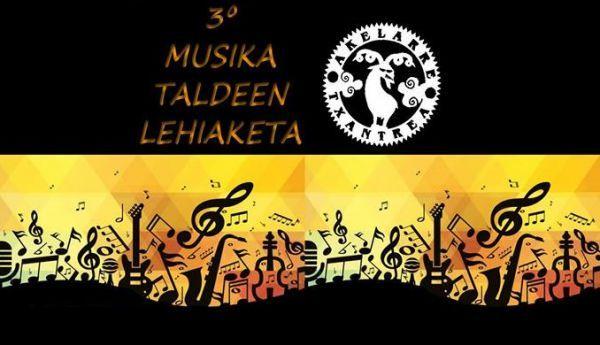 3º musika talde lehiaketa