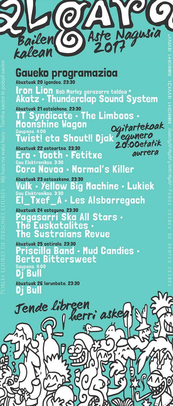 Pagasarri Ska All Stars + The Euskatalites + The Sustraians Revue