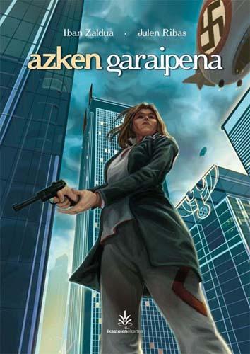 Azken garaipena komikiaren azala.