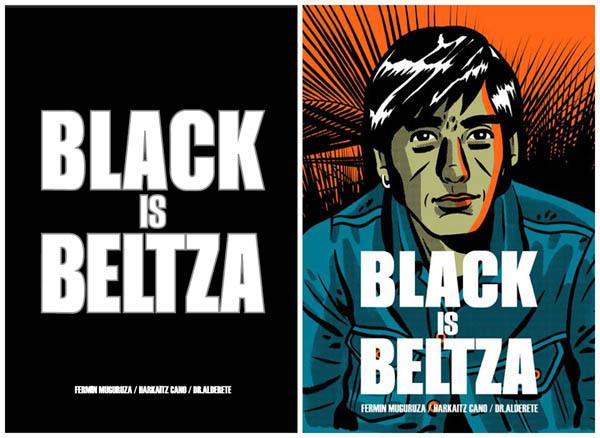 Black is beltza.