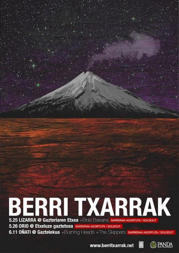 Berri Txarrak + Burning Heads + Skippers