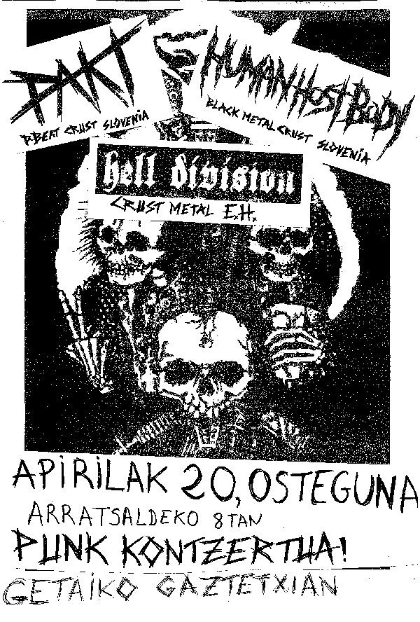 PAKT + Human Host Body + Hell Division