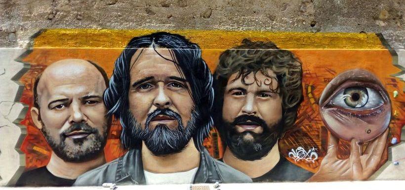Berri Txarrak grafitia Pasaian