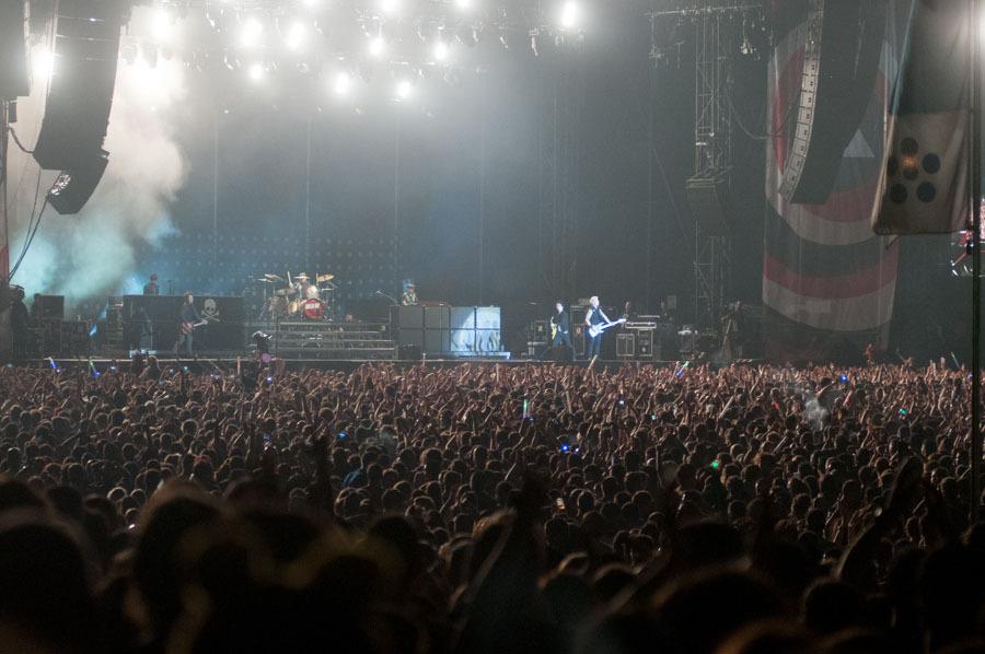 Green Day. A tope con la chavaler