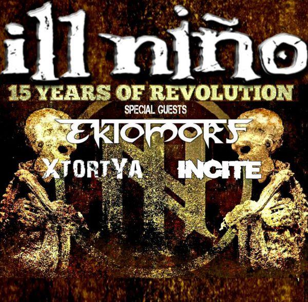 ILL NIÑO – 15 Years of Revolution