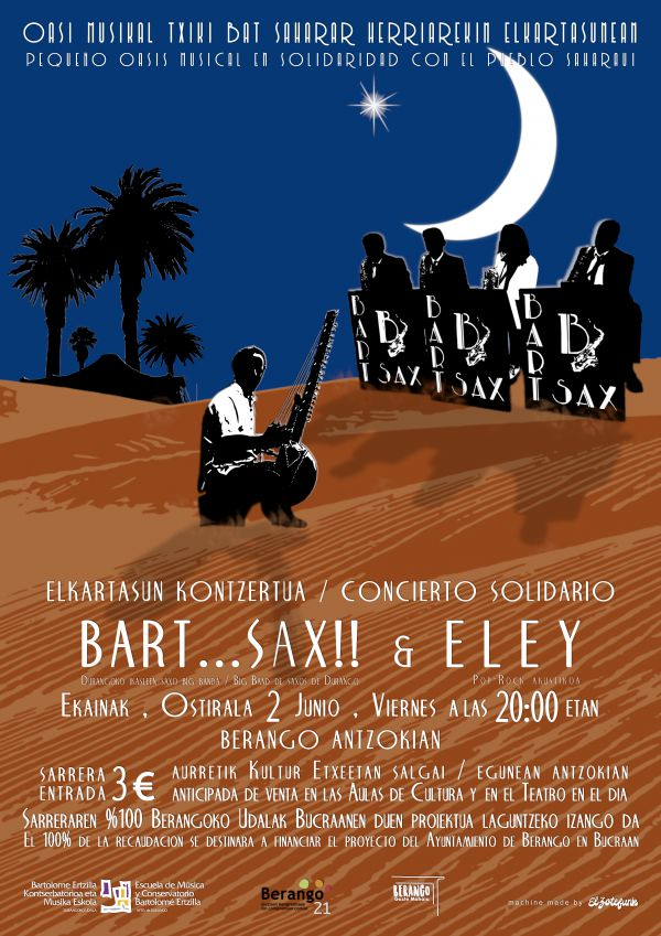 Eley & Bart...Sax! Big Band