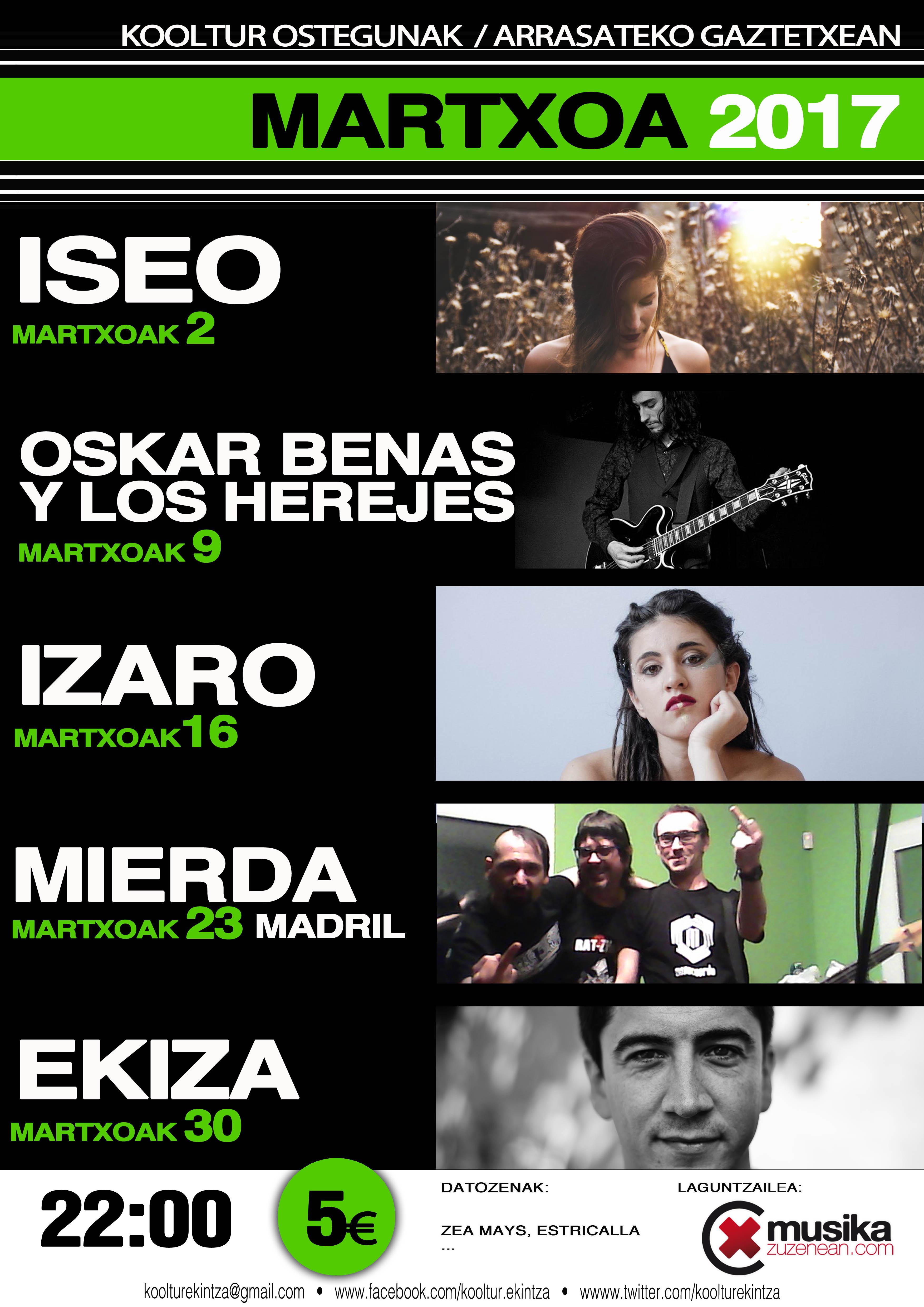 Oskar Benas y Los Herejes