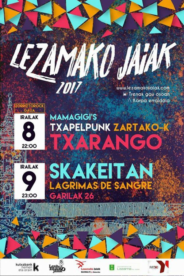 Mamagigi's + Txapelpunk + Txarango + Zartako-K