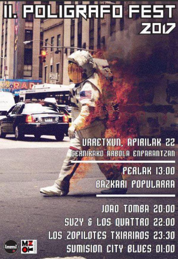 Joao Tomba + Suzy & Los Quattro + Los Zopilotes Txirriaos + Sumisión City Blues