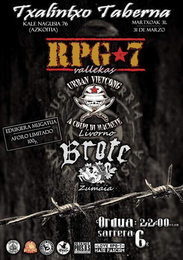 RPG7 + Urban Vietcong + Brote