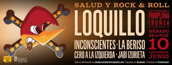 Loquillo + Jabi Izurieta + Cero a la Izquierda + Inconscientes + La Beriso