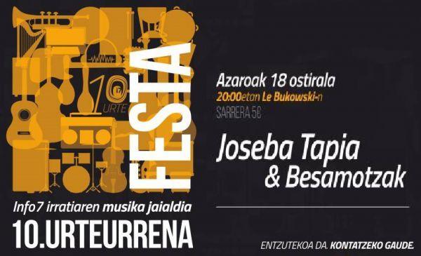 Joseba Tapia & Besamotzak