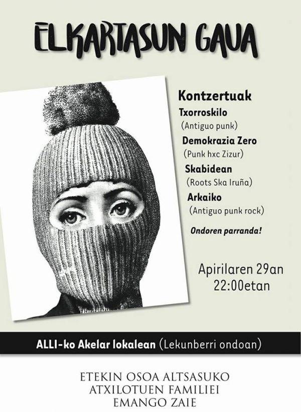 Txorroskilo + Demokrazia zero + Skabidean + Arkaiko