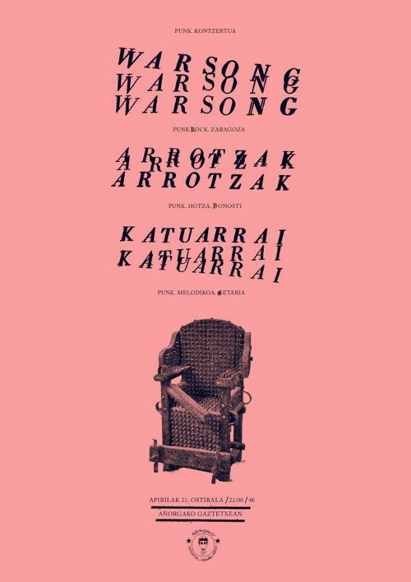 Warsong + Arrotzak + Katuarrai