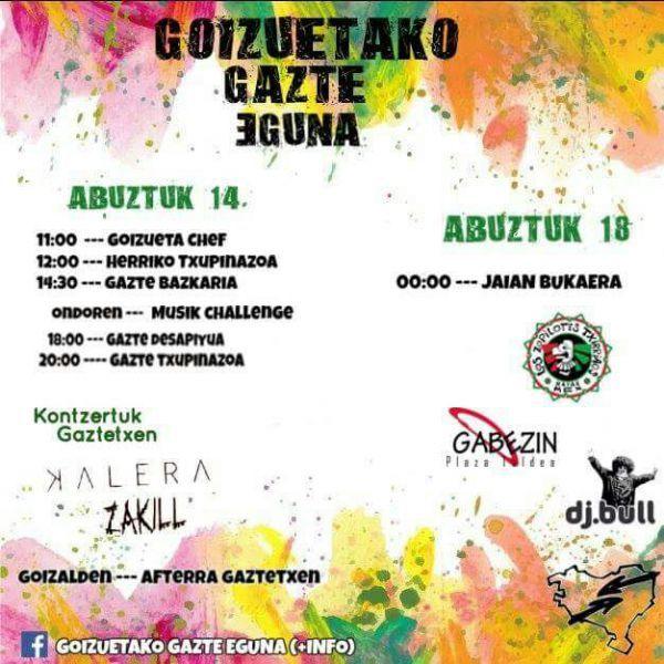 Los Zopilotes Txirriaos + Gabezin + DJ Bull